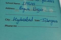 Rajnandini, Class 8th