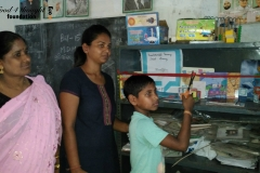 Basantakundal Primary School Library, Cuttack- 14th April 2016