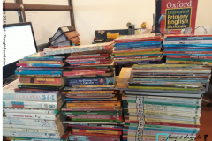Book donation campaign at Ladder Innovation CLub, Bangalore