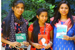 Book Donation Campaign by RBVRR Women's College Hyderabad