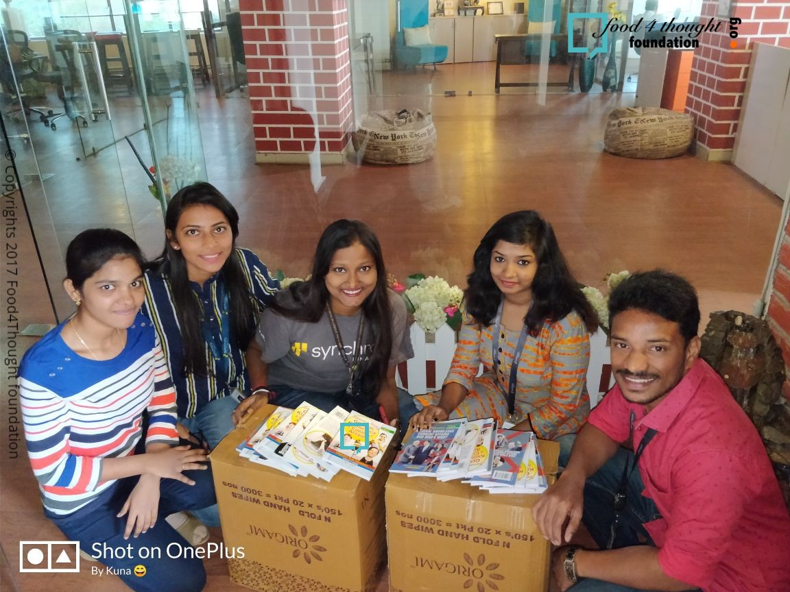 BOOK DONATION CAMPAIGN BY SYNCHRONY FINANCIAL VOLUNTEERS dt 12th Feb (3)