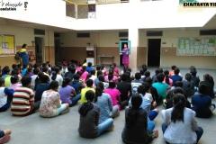 Food 4 Thought Foundation at Chaitanya Vidyalaya, Hyderabad