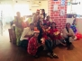 Christmas celebration at Food4thoughtfoundation office with thestrategist team