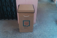 Drop Box at Bowenpally, Hyderabad for Books contribution