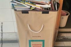 Save Books & Build Library campaign at Elisabeth Gauba School