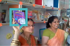 Infant Public School Library, Gwalior- 18th March 2016