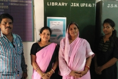 J.S.Nodal Upper Primary School Library, Cuttack- 16th April 2016
