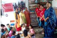 Library inauguration SWATI NGO,NSSIIT Delhi on 31st August
