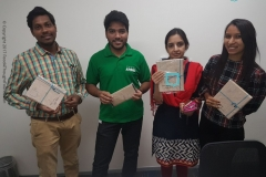 Mr. Dinesh Kumar, Mr. Teja Kandukuri, Ms. Nupur Anchila, Ms. Khusboo Doshi