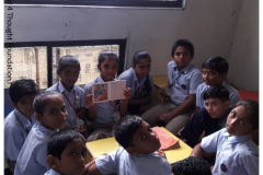 Prarthana School Library, 05-09-2018