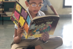 Prarthana School Library, 07-07-2018