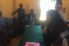 Library opening Sarajapur Govt School Bangalore dt 22nd Feb, 2018 (2)