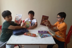 Joy of Reading session- 30th April 2016