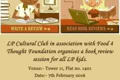 Joy of Reading session- 7th February 2016