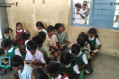 Shamshiguda Mandal Parishad Primary School Library- 6th April 2016