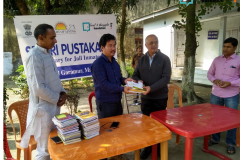 Sri Sri Pustakalaya Majuli  Jail-Library Inaguration on 18 November 2018