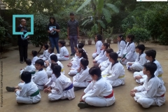 Campaign with Students of Taekwondo- 4th November 2015
