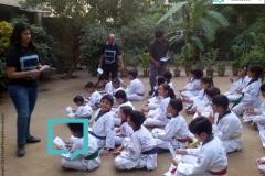 Campaign with Students of Taekwondo- 4th November 2015