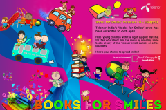 Telenor: Books for Smiles campaign