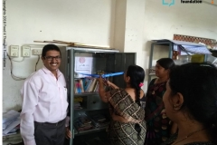 Library Opening at ZPHS Bollaram (BITS) on 31st August 2019