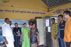 Library inauguration at ZPHS Chintalapadu on 8th July 2016