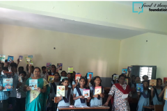 ZPHS Qutubullapur-inauguration Library on 14th of March 2019