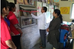 Library opening at ZPHS Thumkunta on 31st August